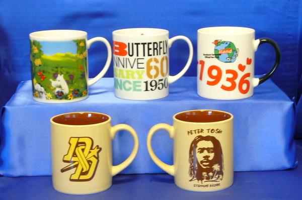 記念品や販促品にはマグカップ